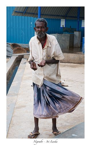 Man at the fish market, Negombo, Sri Lanka (www.secretlanka.com)