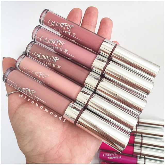 #UltraMatteLip NUDES  @colourpopcosmetics •••••••••••••••••••••••••••••••••••••••••••••••••••••••••••••••••• So I'm in a swatch comparison mood  Comment below ⬇️ Just remember each brand does have different formulas! So it's a matter of taste (not only in shades) •••••••••••••••••••••••••••••••••••••••••••••••••••••••••••••••••• $6 Available JUNE 25th • We will update more info soon • Please check #TrendmoodCPUltraMatteLip for more pictures XO #TRENDMOOD #ColourPopCosmetics #ColourPop...