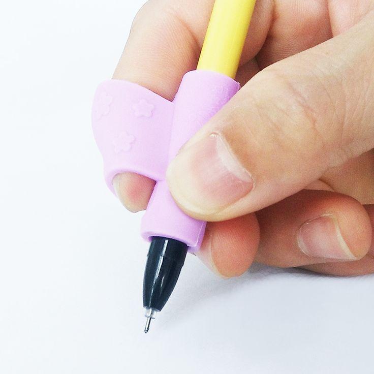 FIYKIT Bambini Learning Partner di Scrittura Dispositivo di Correzione della Postura Per Tenere Una Penna di Correzione Silicone Studente di Cancelleria Per I Bambini