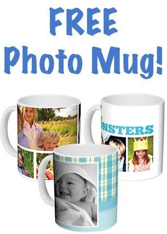 FREE Photo Mug! {just pay s/h} ~ these would make fun gifts, too! #mugs