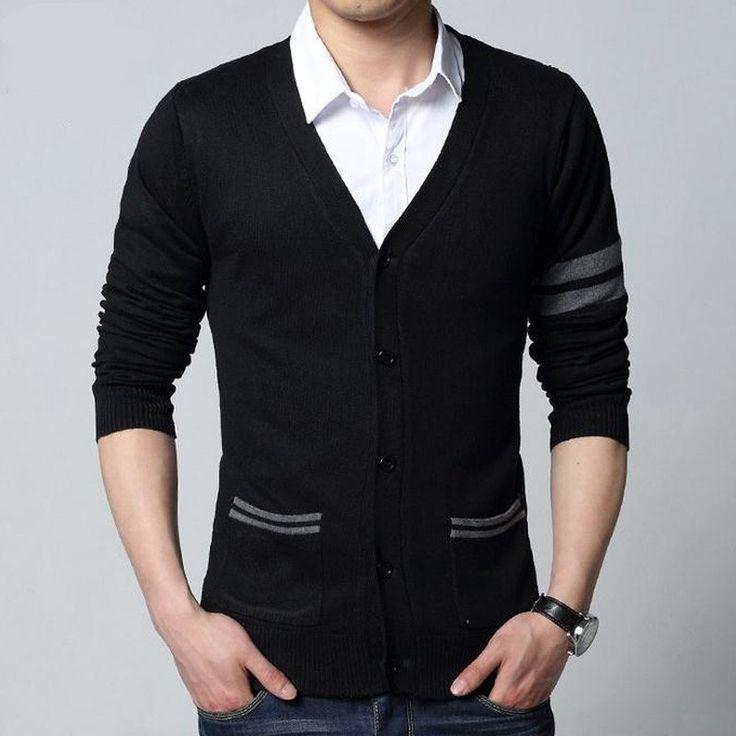 Cardigan Masculino Knitwear