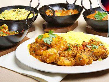Curry-Night – Indisches 4-Gänge-Menü mit Weinbegleitung  #München #Restaurant #Deals #indisch #Curry