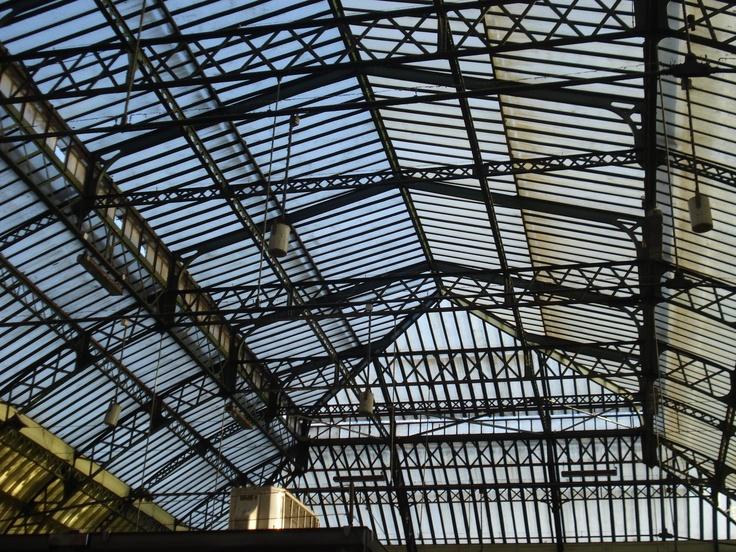 Gare de Lyon, Trainstation glass roofs, 2 place Louis Armand, Paris XII