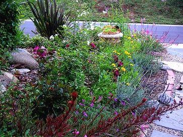 Drought Tolerant Gardens - mediterranean - Landscape - Los Angeles - Anne Kunzig