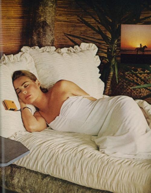 Margaux Hemingway 1975 Vogue