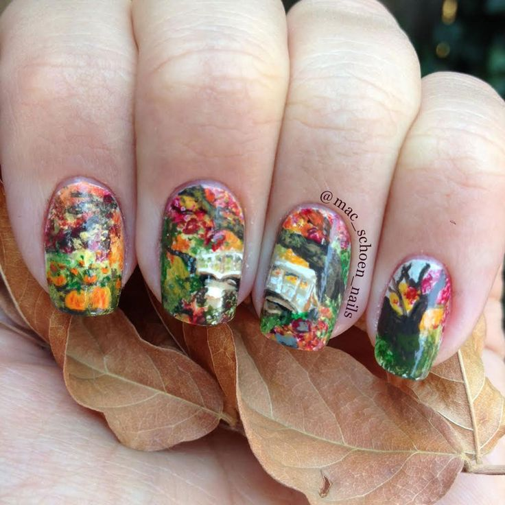 The Little Canvas: October Nail Artist of the Month: Mac Schoen Nails