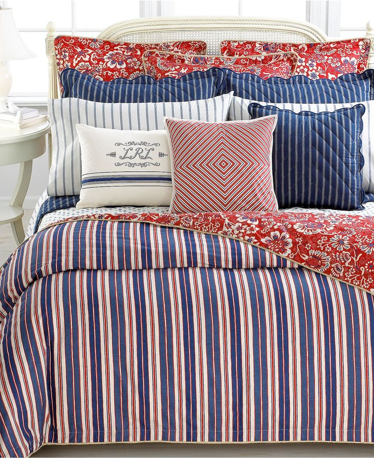 Ralph Lauren bedding for youngies or guest.
