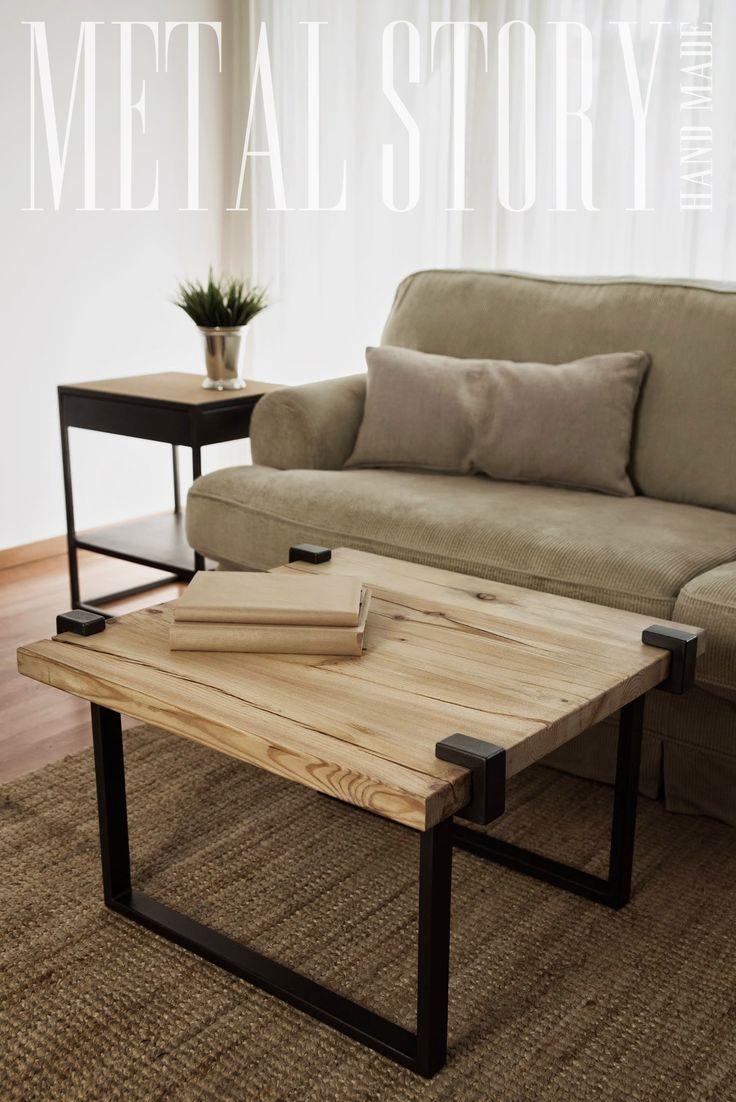 stół Richmond aranżacja #metalstory #stol #mebleloftowe