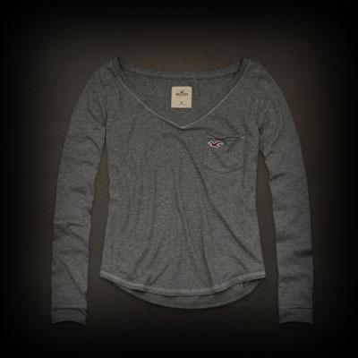 ホリスター レディース Tシャツ Hollister Daley Ranch Tee ニット Tシャツ-アバクロ 通販 ショップ #ITShop