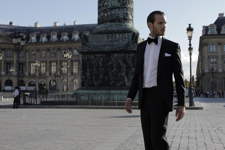 Black tie and tux on Place Vendome