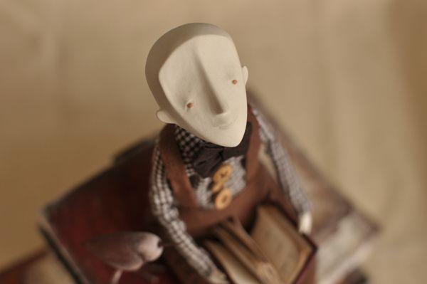 Doll 3 by Alina Plastilina, via Behance