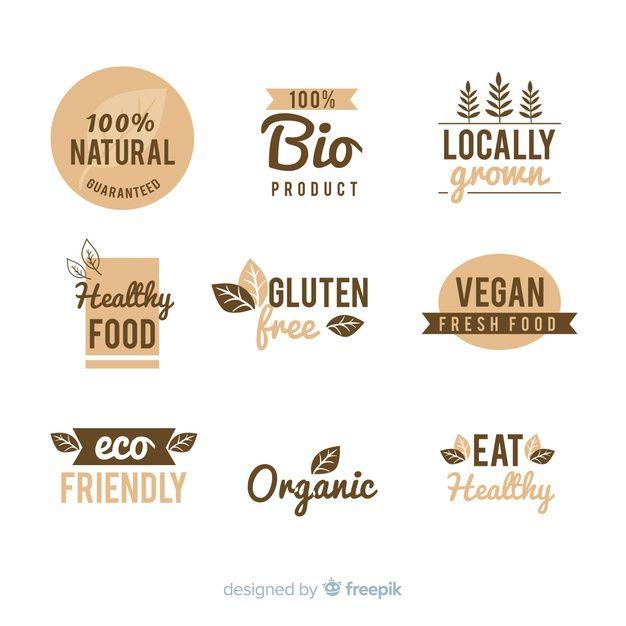 Download Vintage Healthy Food Logo Set For Free In 2020 Healthy Food Logo Vintage Logo Logo Food