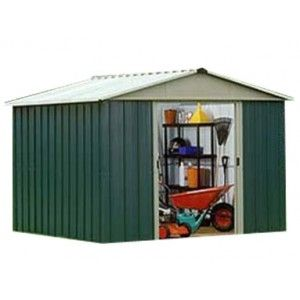 Shed Factory -  10x10 Metal Storage Shed from Yardmaster Ireland