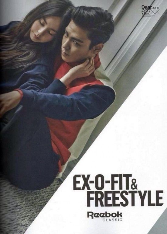 T.O.P and Sohee are a cute couple in romantic shoot for 'Reebok' | allkpop