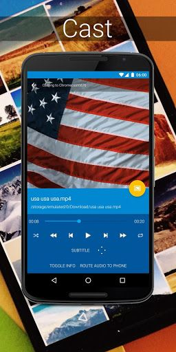 LocalCast for Chromecast Beta v6.1.2.1 [Pro] Requirements: 4.1+ Overview: LocalCast is the number one casting solution on Android with over 4,000,000 users!        Send videos, music or pictures   FROM your phone or tablet, NAS (DLNA/UPnP or Samba), Google Drive, Google+, Dropbox or a...