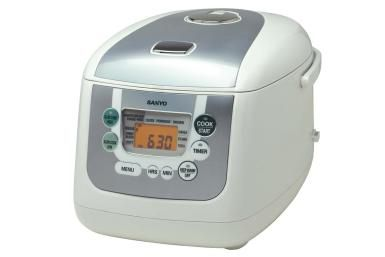 Sanyo Rice & Slow Cooker (Model ECJ-HC55S) - Sanyo