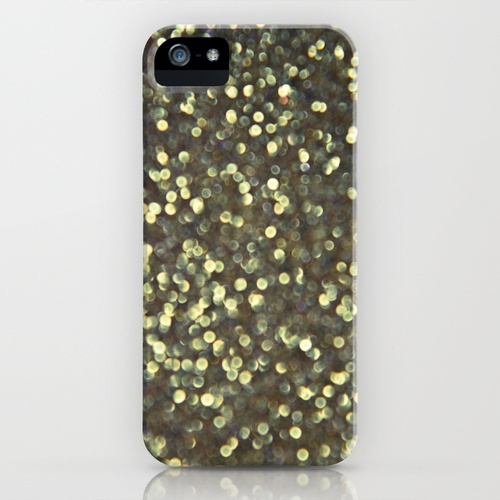 Pixie Dust II (photographic print of glitter) iPhone Case