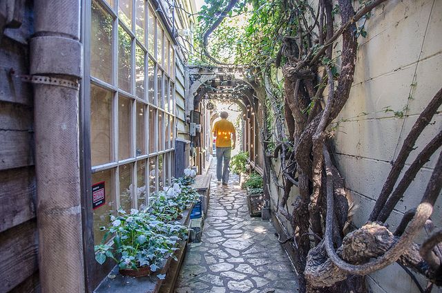 There are more than 40 secret courtyards and passages twisting around downtown Carmel, California.
