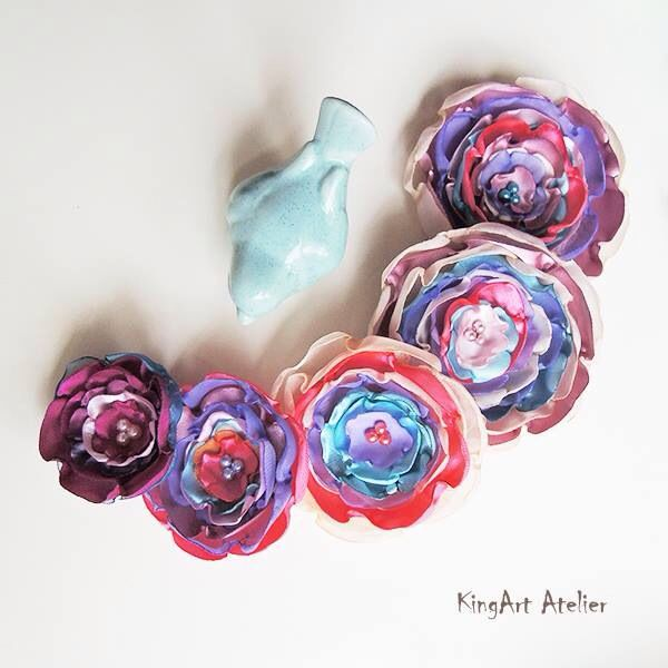 """""""Friends are the flowers in the garden of life"""" collection by KingArt Atelier"""