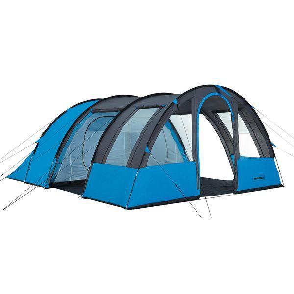Tente Familiale Ontario 6 places 379€ 2 chambres de 3  Séjour 11m2 Voir aussi site Expo Camping Sports à Pierrelaye