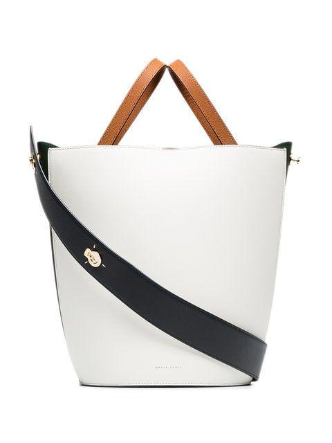 8bd03fc7e7 Danse Lente white Lorna mini leather shoulder bag
