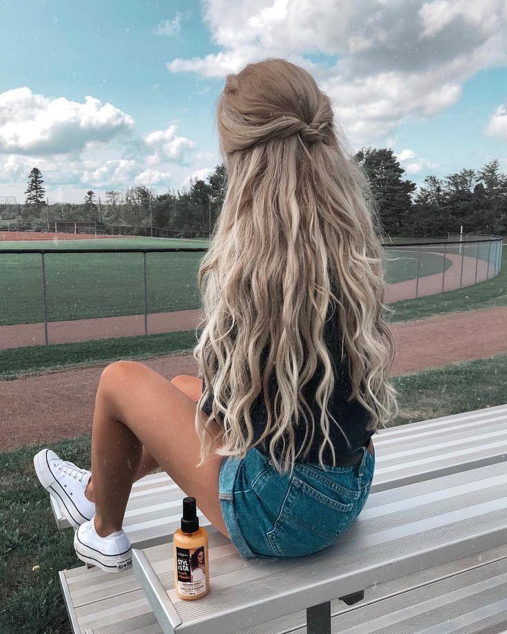 Lange Haarmodelle Kmo Haarmodelle Kmo Lange Long Hair Styles Easy Hairstyles For Long Hair Hair Styles