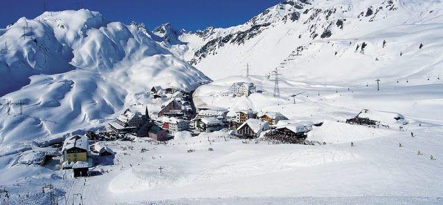 St Anton am Arlberg - Popular Tourist Attractions in Austria