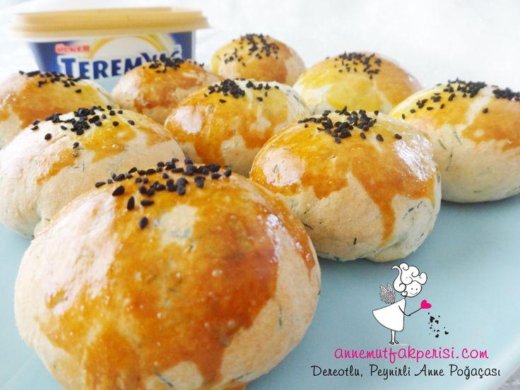 jellyfish cookies: Peynirli Dereotlu Anne Poğaçası