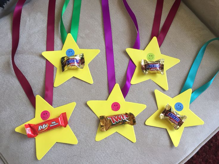 Candy medals                                                                                                                                                                                 More
