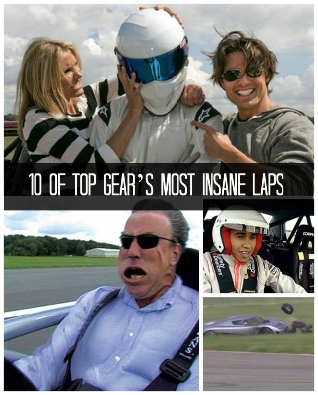 List of Top Gear test track Power Lap times - Wikipedia