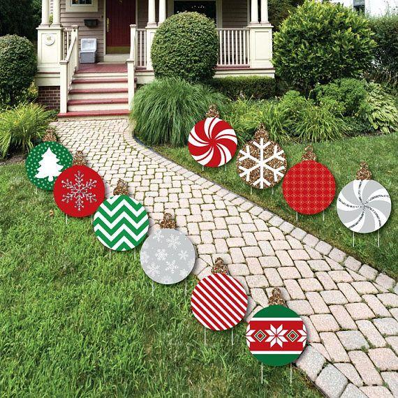 Outdoor Wooden Christmas Yard Decorations: Best 25+ Christmas Yard Art Ideas On Pinterest