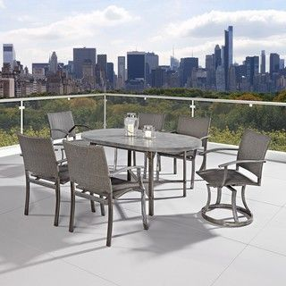 Shop for Home Styles Urban Outdoor 7-piece Dining Set. Get free delivery at Overstock.com - Your Online Garden