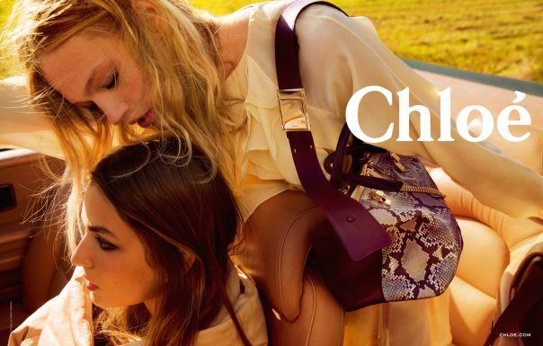 Andreea Diaconu, Sasha Pivovarova for Chloé Fall Winter 2014-2015