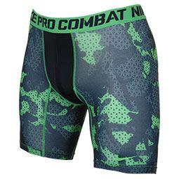Men's Nike Pro Combat Core Compression Grid Camo Shorts