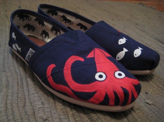 Maritime painting on Toms!