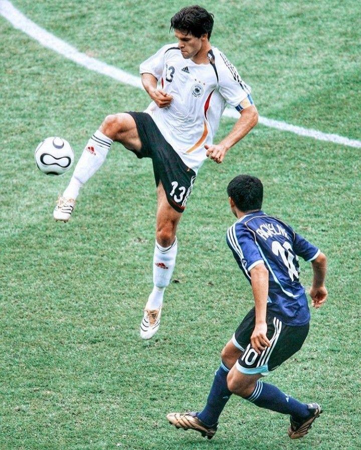 Pin By Ditmir Ulqinaku On Sport Football Players Michael Ballack Germany Vs