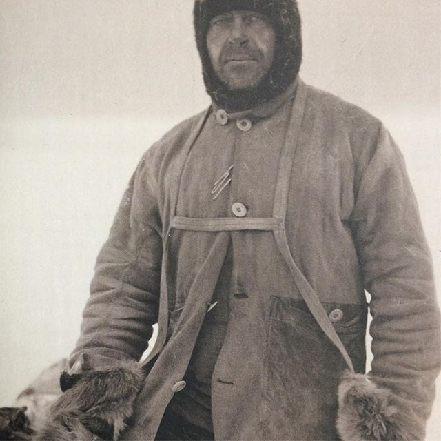 While contemplating stepping out into the #blizzard on Broad Street I came across this image of Commander Robert Falcon Scott on his way to the South Pole in the wonderful @lesothers magazine. I should think my mid-price winter jacket is warmer than the Commanders. #scottoftheantarctic #iceadventure #thrillseekers #beastfromtheeast