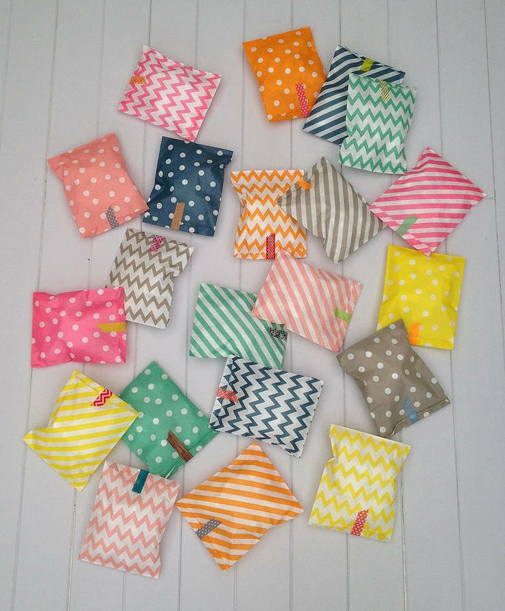 pack of 25 assorted patterned party bags by petra boase   notonthehighstreet.com