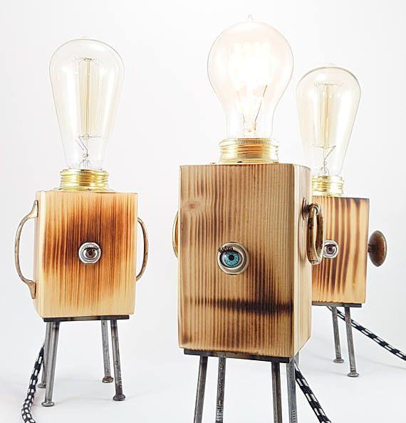 Oltre 25 fantastiche idee su lampade da tavolo vintage su - Lampade da tavolo in legno ...