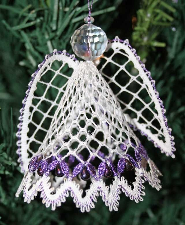 Angel 2011 Christmas Torchon Bobbin Lace Pattern Lacemaking *PATTERN ONLY*