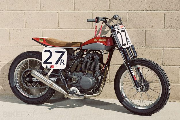 Encore un flat tracker Co-Built