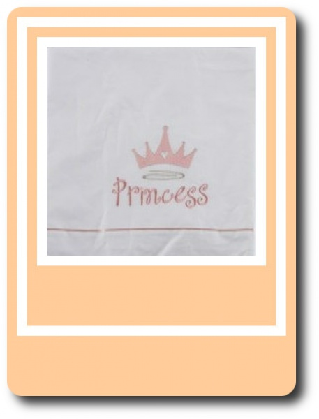 Σετ Λαδόπανου My Princess - Λαδόπανα  Πλήρες σετ λαδόπανου Βάπτισης με σεντονάκι,πετσέτες,εσώρουχα παιδικά με μια ροζ Μικρή Νεραιδούλα σε λευκό ή εκρού χρώμα.
