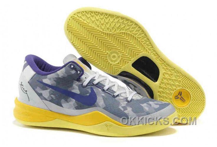 http://www.okkicks.com/2013-nike-kobe-8-shoes-grey-purple-yellow-555035-058-online-ezaw4.html 2013 NIKE KOBE 8 SHOES GREY PURPLE YELLOW 555035 058 ONLINE EZAW4 Only $65.26 , Free Shipping!