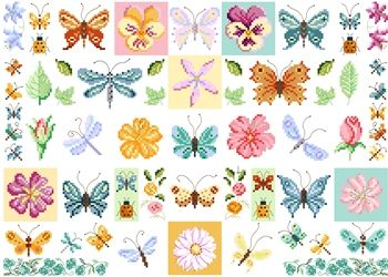 DMC Free Floral design