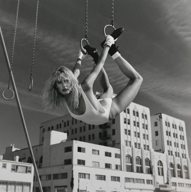 Daryl Hannah photograph by Helmut Newton for Vanity Fair, Los Angeles, 1984