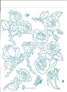 More amazing flower embroidery patterns: Amazing Flowers, Embroidery Flowers, Trees Houses, Vintage Embroidery Patterns, Crafts Embroidery, Flowers Embroidery Patterns, Flowers Rose, Stitches Rose, Flowers Border
