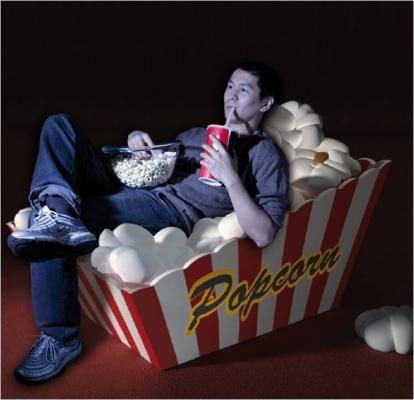 Popcorn Sessel für Heimkino selber bauen