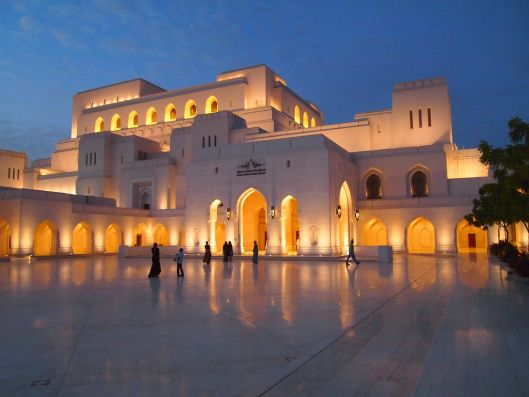 #ExploreOman The Royal Opera House Muscat is Oman's premier venue for musical arts and culture. The opera house is located in Shati Al-Qurm district of Muscat, Oman. Picture Credit- WordPress.com
