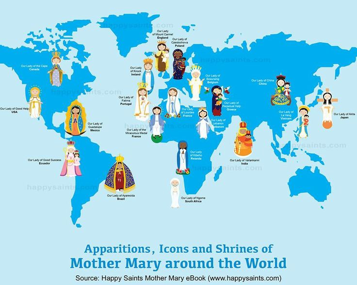 397 best catholic images on pinterest catholic religious pictures mother mary around the world gumiabroncs Gallery