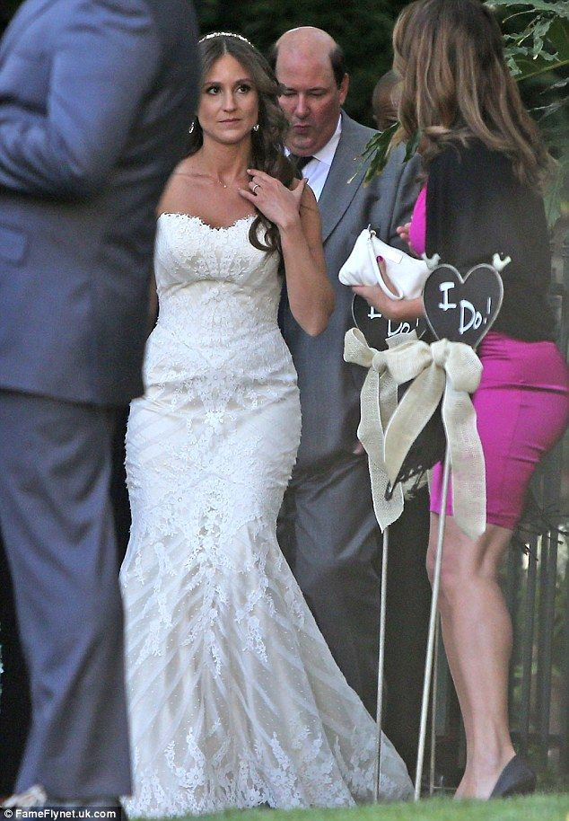 The Office star Brian Baumgartner tied the knot with Celeste Ackelson in LA